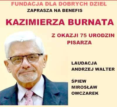 Benefis Kazimierza Burnata